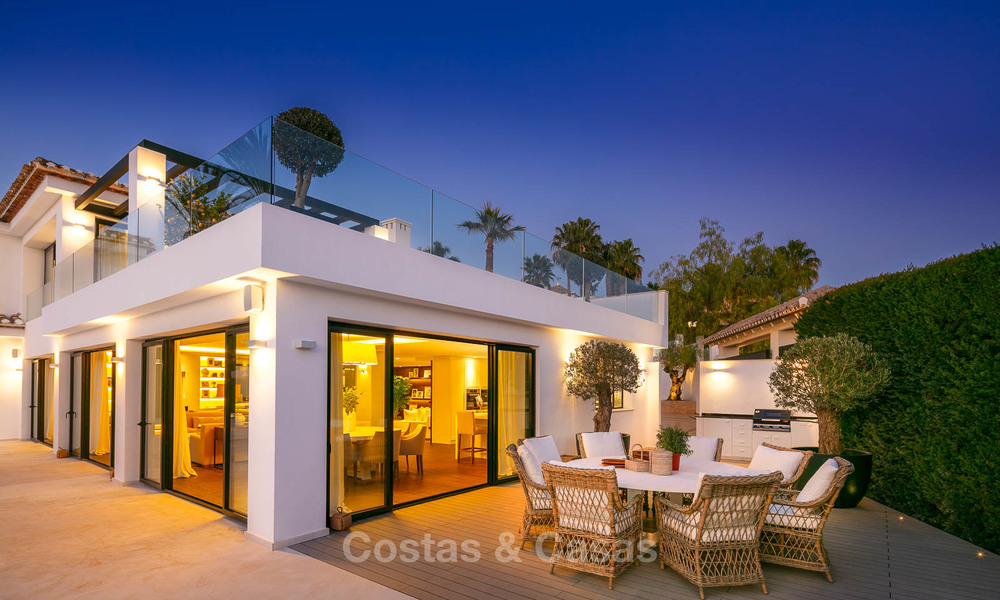 Prestigious renovated luxury villa for sale, front line golf, Nueva Andalucía, Marbella 9451