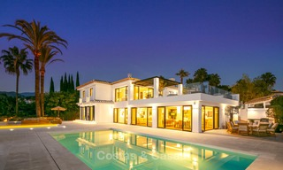 Prestigious renovated luxury villa for sale, front line golf, Nueva Andalucía, Marbella 9453