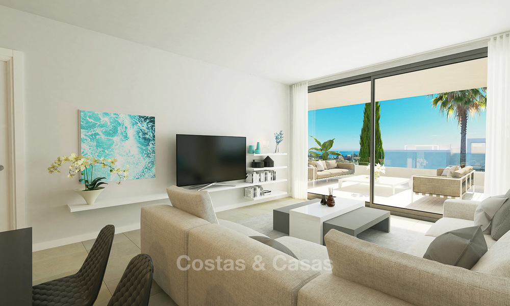 Stunning New Modern Contemporary Apartments With Sea Views For Walking Distance To The Beach