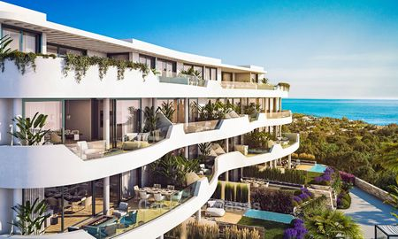 Stylish contemporary apartments with sea views for sale, in a complex with top class infrastructure - Fuengirola, Costa del Sol 9468