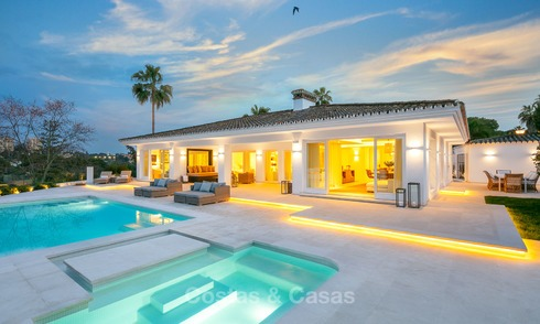 Magnificent renovated luxury villa for sale, front line golf Las Brisas - Nueva Andalucia, Marbella 9627