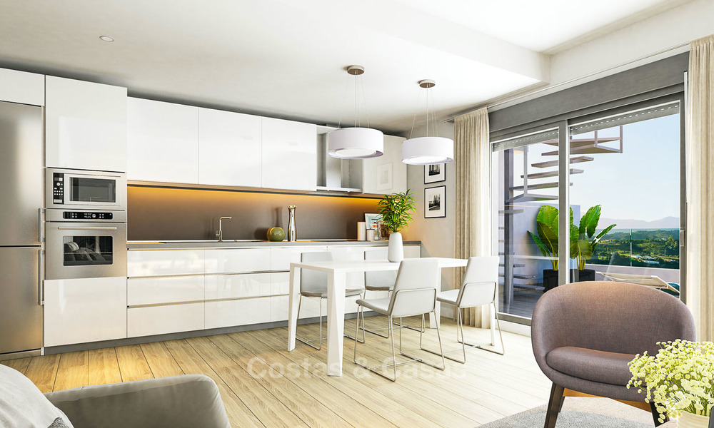 New contemporary luxury apartments for sale on the New Golden Mile, Marbella - Estepona 9864