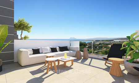 Attractive and price-favourable new townhouses with stunning sea views for sale - Sotogrande, Costa del Sol 9871