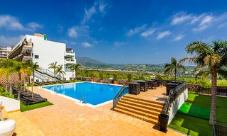 Guaranteed return on investment! Frontline golf apartments for sale in 4-star gated holiday resort with golf-, mountain- and or sea views in Estepona, Costa del Sol 9914