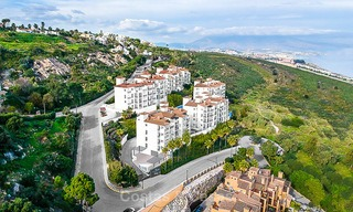 Spacious, modern luxury apartments in a new wellness resort for sale, with unobstructed sea views, Manilva, Costa del Sol 10104