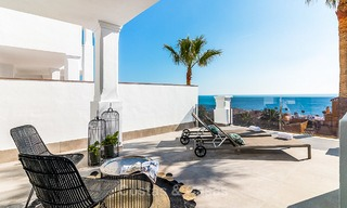 Spacious, modern luxury apartments in a new wellness resort for sale, with unobstructed sea views, Manilva, Costa del Sol 10109