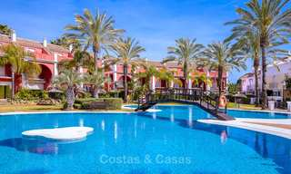 Spacious semi-detached house with magnificent sea views for sale, in a prestigious beach front complex - East Marbella 10055