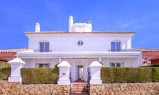 Spacious semi-detached house with magnificent sea views for sale, in a prestigious beach front complex - East Marbella 10072