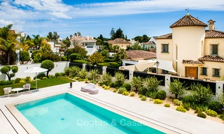 Exceptional, fully renovated beachside villa for sale on the prestigious Golden Mile, Marbella 10131