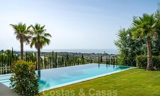 Brand new contemporary luxury villa with panoramic sea views for sale, in an exclusive golf resort, Benahavis - Marbella 26520