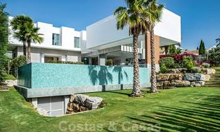 Brand new contemporary luxury villa with panoramic sea views for sale, in an exclusive golf resort, Benahavis - Marbella 26526