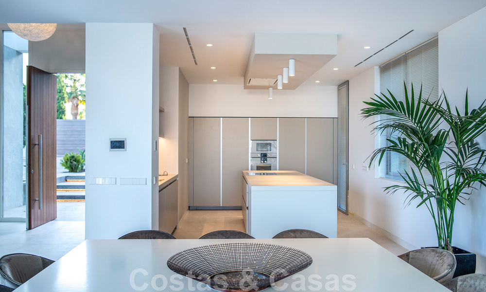 Brand new contemporary luxury villa with panoramic sea views for sale, in an exclusive golf resort, Benahavis - Marbella 26541