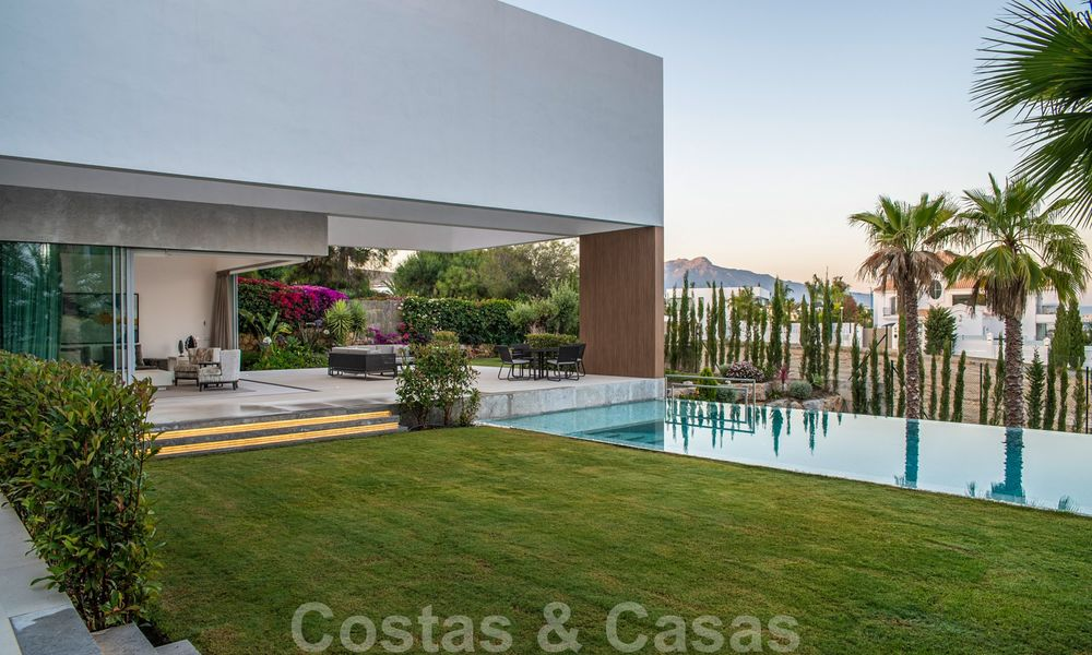 Brand new contemporary luxury villa with panoramic sea views for sale, in an exclusive golf resort, Benahavis - Marbella 26548