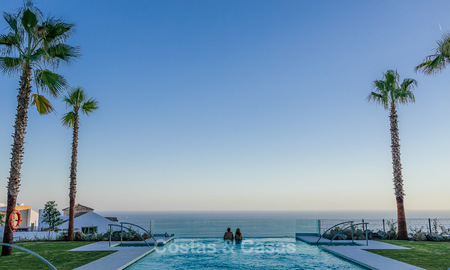 Spacious modern exclusive villas with amazing panoramic sea views for sale - Benalmadena, Costa del Sol 10179