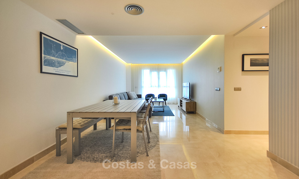 Mint modern beachside apartment for sale, walking distance to the beach and town centre - San Pedro, Marbella 10323