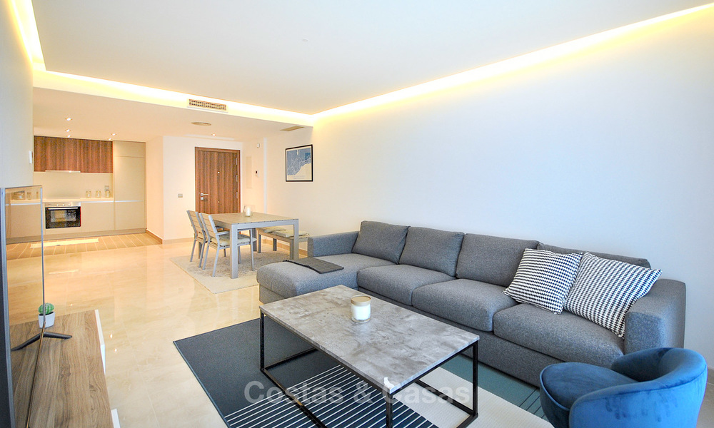 Mint modern beachside apartment for sale, walking distance to the beach and town centre - San Pedro, Marbella 10333
