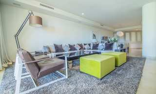 Spectacular frontline beach duplex apartment for sale, in an extraordinary complex, Puerto Banus, Marbella 10218