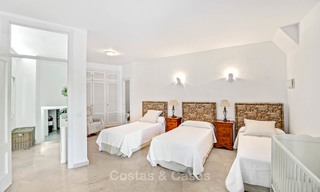 Charming, very spacious duplex ground floor apartment for sale, frontline beach and marina in Cabopino, East Marbella 10243