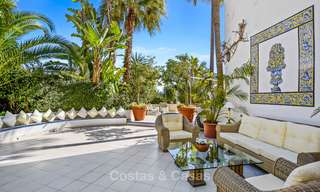 Charming, very spacious duplex ground floor apartment for sale, frontline beach and marina in Cabopino, East Marbella 10246