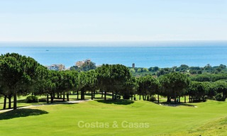 Charming, very spacious duplex ground floor apartment for sale, frontline beach and marina in Cabopino, East Marbella 10272