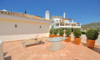 Spectacular penthouse apartment with panoramic sea views for sale, Nueva Andalucía, Marbella 10343
