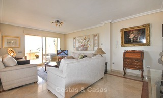 Spectacular penthouse apartment with panoramic sea views for sale, Nueva Andalucía, Marbella 10357