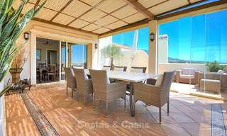 Spectacular penthouse apartment with panoramic sea views for sale, Nueva Andalucía, Marbella 10362
