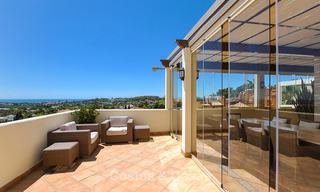 Spectacular penthouse apartment with panoramic sea views for sale, Nueva Andalucía, Marbella 10365