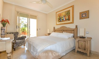 Spectacular penthouse apartment with panoramic sea views for sale, Nueva Andalucía, Marbella 10373