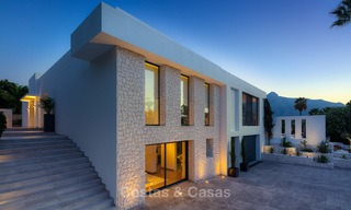 Opulent modern contemporary luxury villa for sale in the Golf Valley of Nueva Andalucia, Marbella 10432