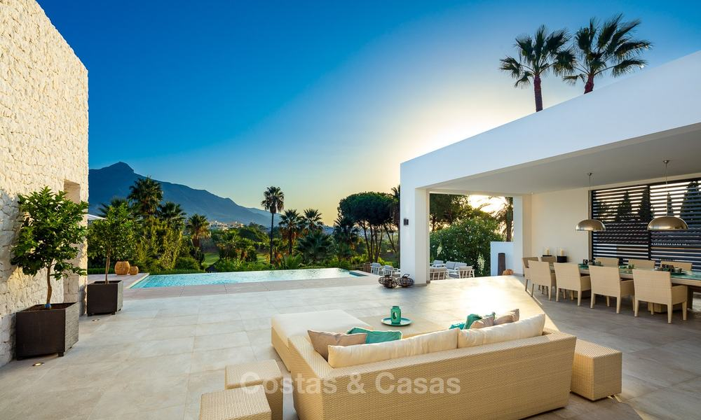 Opulent modern contemporary luxury villa for sale in the Golf Valley of Nueva Andalucia, Marbella 10434