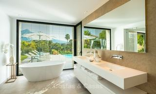 Opulent modern contemporary luxury villa for sale in the Golf Valley of Nueva Andalucia, Marbella 10437