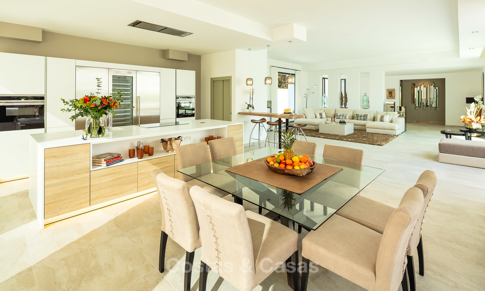 Opulent modern contemporary luxury villa for sale in the Golf Valley of Nueva Andalucia, Marbella 10439