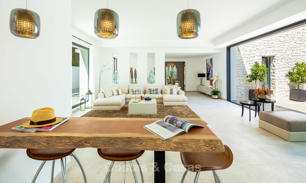Opulent modern contemporary luxury villa for sale in the Golf Valley of Nueva Andalucia, Marbella 10444