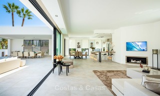 Opulent modern contemporary luxury villa for sale in the Golf Valley of Nueva Andalucia, Marbella 10446