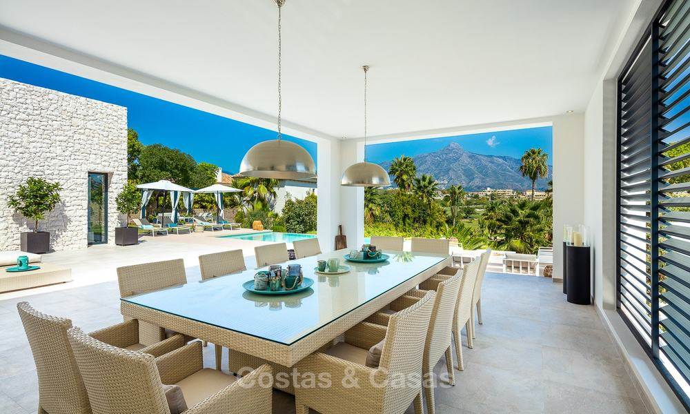Opulent modern contemporary luxury villa for sale in the Golf Valley of Nueva Andalucia, Marbella 10447