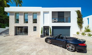 Opulent modern contemporary luxury villa for sale in the Golf Valley of Nueva Andalucia, Marbella 10448