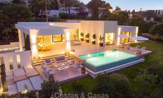 Opulent modern contemporary luxury villa for sale in the Golf Valley of Nueva Andalucia, Marbella 10452
