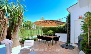 Adorable fully refurbished frontline golf townhouse for sale in Nueva Andalucia´s golf valley, Marbella 10457
