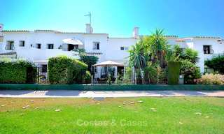 Adorable fully refurbished frontline golf townhouse for sale in Nueva Andalucia´s golf valley, Marbella 10458
