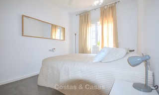 Adorable fully refurbished frontline golf townhouse for sale in Nueva Andalucia´s golf valley, Marbella 10465