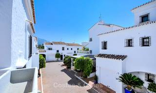 Adorable fully refurbished frontline golf townhouse for sale in Nueva Andalucia´s golf valley, Marbella 10470