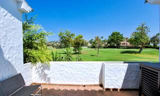 Adorable fully refurbished frontline golf townhouse for sale in Nueva Andalucia´s golf valley, Marbella 10472