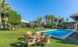Andalusian style villa in an upscale golf urbanisation for sale, walking distance to amenities - Golf Valley, Nueva Andalucía, Marbella 10487