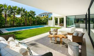 Two spectacular new-built contemporary beachside villas for sale, ready to move in, Marbella - Estepona East 10510