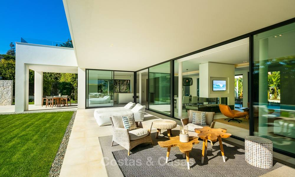 Two spectacular new-built contemporary beachside villas for sale, ready to move in, Marbella - Estepona East 10511
