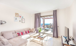 Luxury penthouse apartment with amazing panoramic sea and mountain views for sale, Benahavis, Marbella 10533