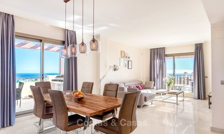 Luxury penthouse apartment with amazing panoramic sea and mountain views for sale, Benahavis, Marbella 10541