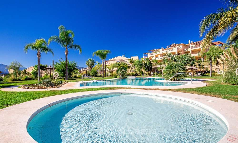 Luxury penthouse apartment with amazing panoramic sea and mountain views for sale, Benahavis, Marbella 10545
