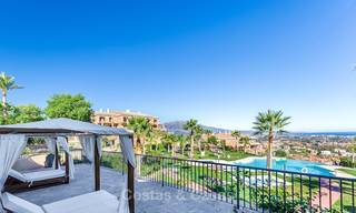 Luxury penthouse apartment with amazing panoramic sea and mountain views for sale, Benahavis, Marbella 10548